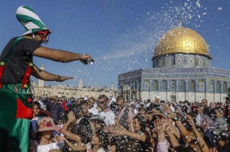 KLAIM AS SOAL PERMUKIMAN ISRAEL PICU UNJUK RASA DI PALESTINA