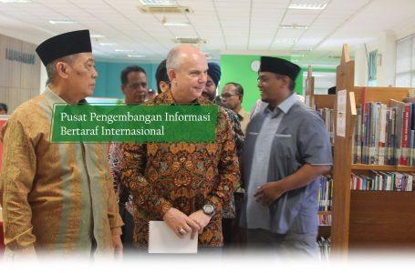 Pusat Pengembangan Informasi  Bertaraf Internasional