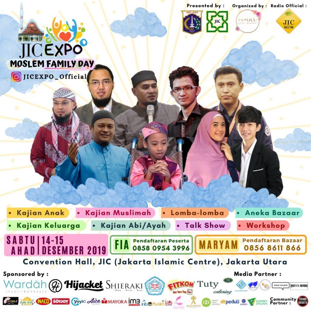 JADWAL LENGKAP JIC EXPO 2019