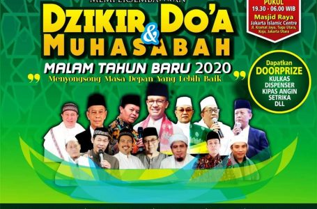 HADIRILAH DO'A, DZIKIR & MUHASABAH MALAM TAHUN BARU DI JIC