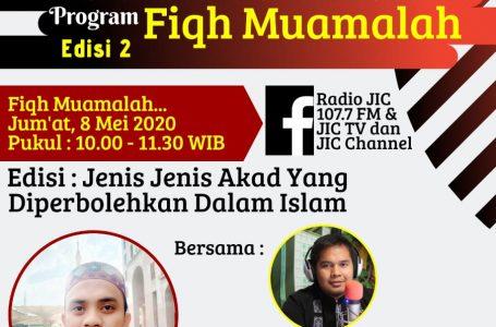 SIARAN JICTV : FIQH MUAMALAH EDISI 2
