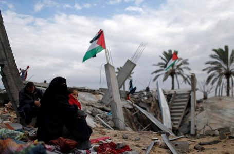 FAKSI PALESTINA DI GAZA BERSATU HADAPI ANEKSASI ISRAEL