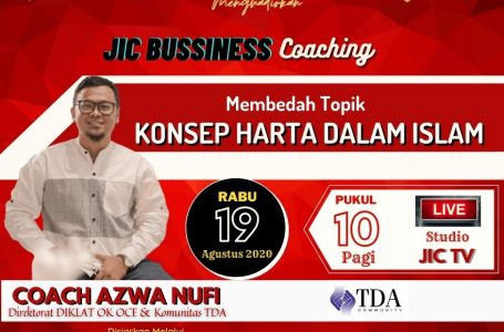 IKUTILAH SIARAN JIC BUSINESS COACHING