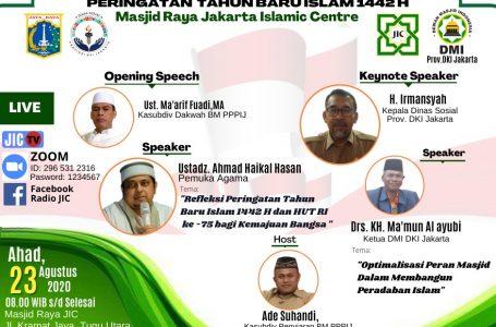 GABUNG DAN IKUTILAH KAJIAN VIRTUAL PERINGATAN TAHUN BARU ISLAM