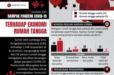 DAMPAK PANDEMI COVID-19 TERHADAP EKONOMI RUMAH TANGGA