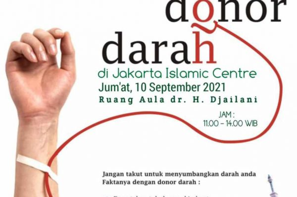 DONOR DARAH BERSAMA PMI DI JAKARTA ISLAMIC CENTRE